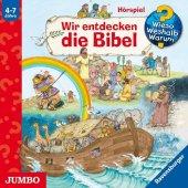 Wir entdecken die Bibel, Audio-CD Cover