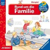 Rund um die Familie, 1 Audio-CD Cover