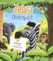 Ein Zebra als Ehrengast Cover