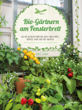 Bio-Gärtnern am Fensterbrett Cover
