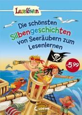 Die schönsten Silbengeschichten von Seeräubern zum Lesenlernen Cover
