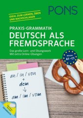 PONS Praxis-Grammatik Deutsch als Fremdsprache Cover