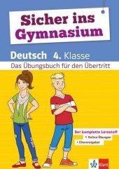 Sicher ins Gymnasium Deutsch 4. Klasse Cover