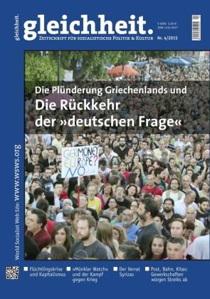Die Plünderung Griechenlands und die Rückkehr der 'deutschen Frage'