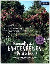 Romantische Gartenreisen in Deutschland Cover