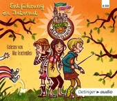 Club der Heldinnen - Entführung im Internat, 4 Audio-CDs