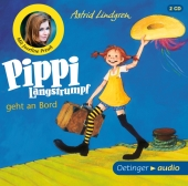 Pippi Langstrumpf geht an Bord, 2 Audio-CDs Cover