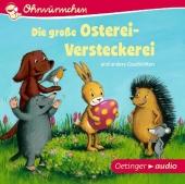 Die große Osterei-Versteckerei und andere Geschichten, 1 Audio-CD Cover