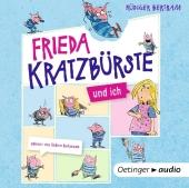 Frieda Kratzbürste und ich, 1 Audio-CD Cover