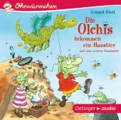 Die Olchis bekommen ein Haustier und eine weitere Geschichte, 1 Audio-CD Cover