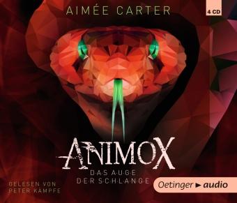 Animox 2. Das Auge der Schlange, 4 Audio-CD