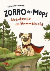 Zorro, der Mops - Abenteuer im Bammelwald Cover