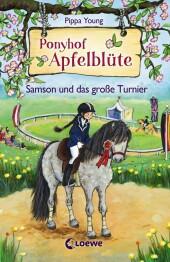 Ponyhof Apfelblüte - Samson und das große Turnier Cover