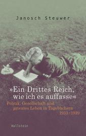 """""""Ein Drittes Reich, wie ich es auffasse"""" Cover"""