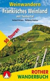 Rother Wanderbuch Weinwandern Fränkisches Weinland Cover