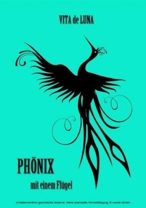 Phönix mit einem Flügel