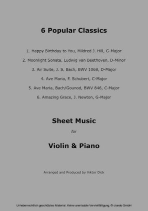 Popular Classics (Violin & Piano)