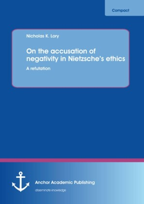 On the accusation of negativity in Nietzsche's ethics: A refutation