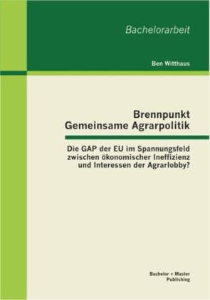 Brennpunkt Gemeinsame Agrarpolitik: Die GAP der EU im Spannungsfeld zwischen ökonomischer Ineffizienz und Interessen der Agrarlobby?