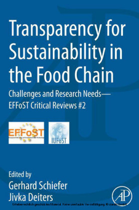Transparency for Sustainability in the Food Chain