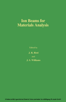 Ion Beams for Materials Analysis