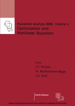 Nonlinear Equations and Optimisation