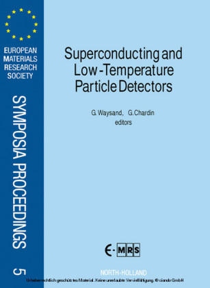 Superconducting and Low-Temperature Particle Detectors