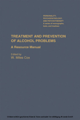 Treatment and Prevention of Alcohol Problems