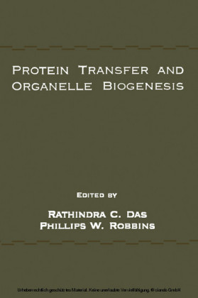 Protein Transfer and Organelle Biogenesis