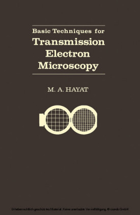 Basic Techniques For Transmission Electron Microscopy