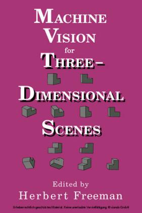 Machine vision for three-dimensional scenes