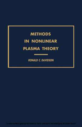 Methods in Nonlinear Plasma Theory