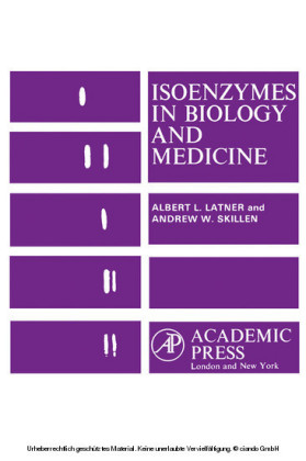 Isoenzymes In Biology and Medicine