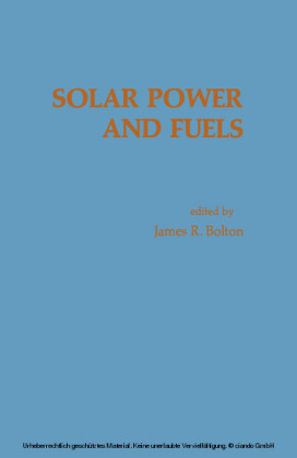 Solar Power And Fuels