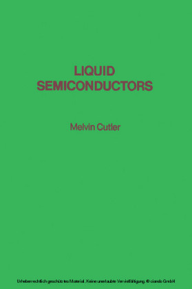 Liquid Semiconductors