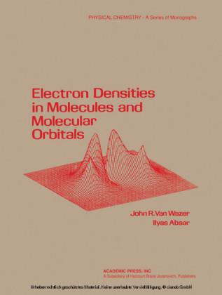 Electron densities in molecular and molecular orbitals