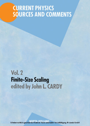 Finite-Size Scaling