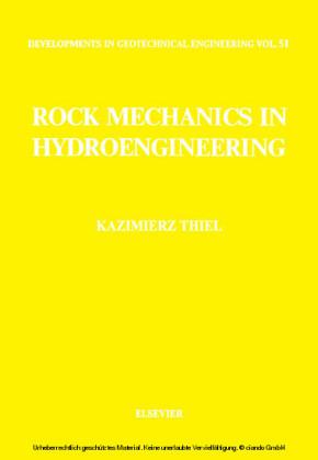 Rock Mechanics in Hydroengineering