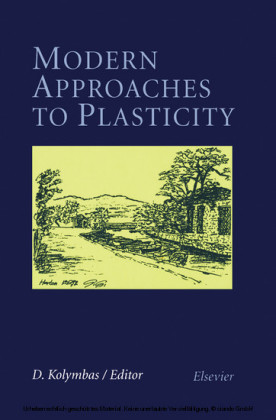 Modern Approaches to Plasticity