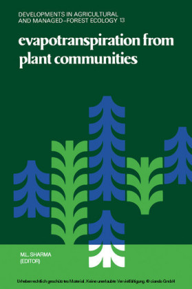 Evapotranspiration from Plant Communities
