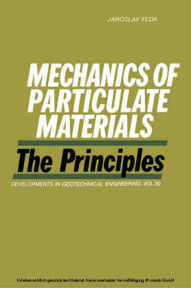 Mechanics of Particulate Materials