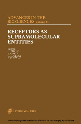 Receptors as Supramolecular Entities