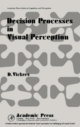 Decision Processes in Visual Perception
