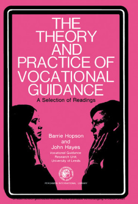 The Theory and Practice of Vocational Guidance
