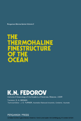 The Thermohaline Finestructure of the Ocean