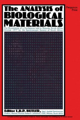The Analysis of Biological Materials