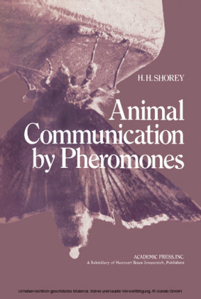 Animal Communication by Pheromones