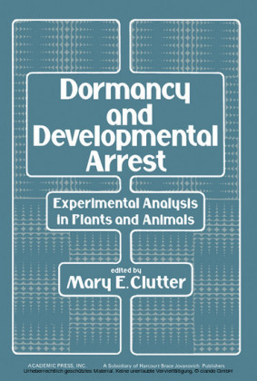 Dormancy and Developmental Arrest