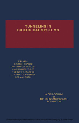Tunneling in Biological Systems
