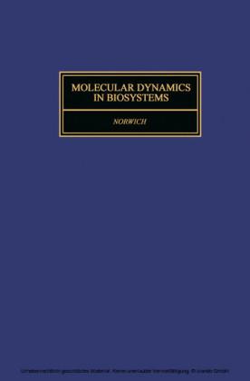 Molecular Dynamics in Biosystems